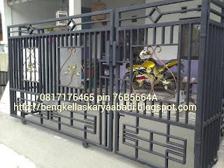contoh gambar pagar minimalis