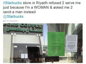 En Arabie saoudite, Starbucks interdit l'accès de ses cafés aux femmes