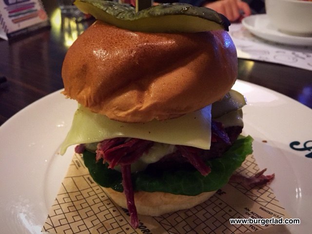 All Star Lanes New Yorker Burger