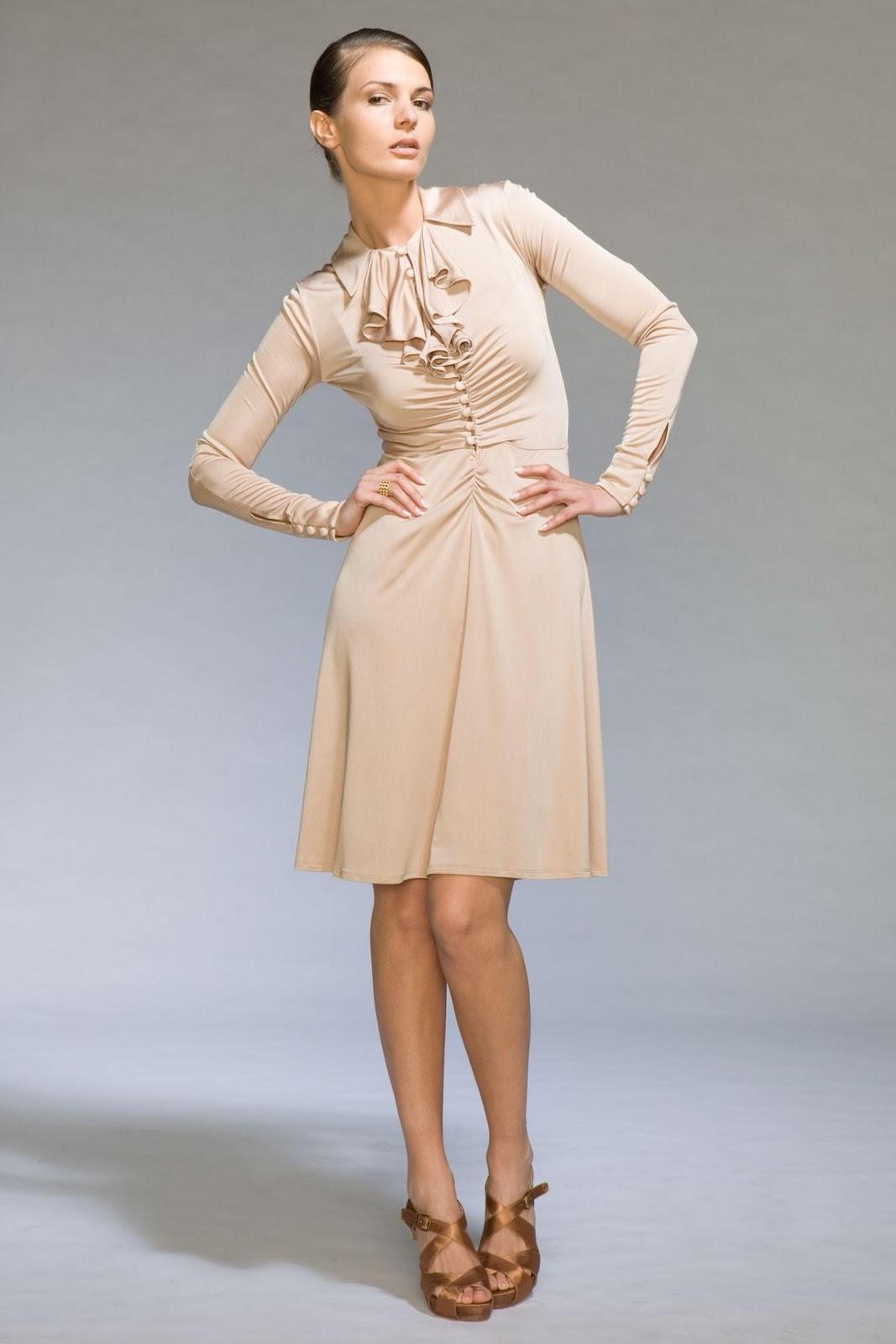 Silk Jersey Dress Jill Braun from jillbraun.com