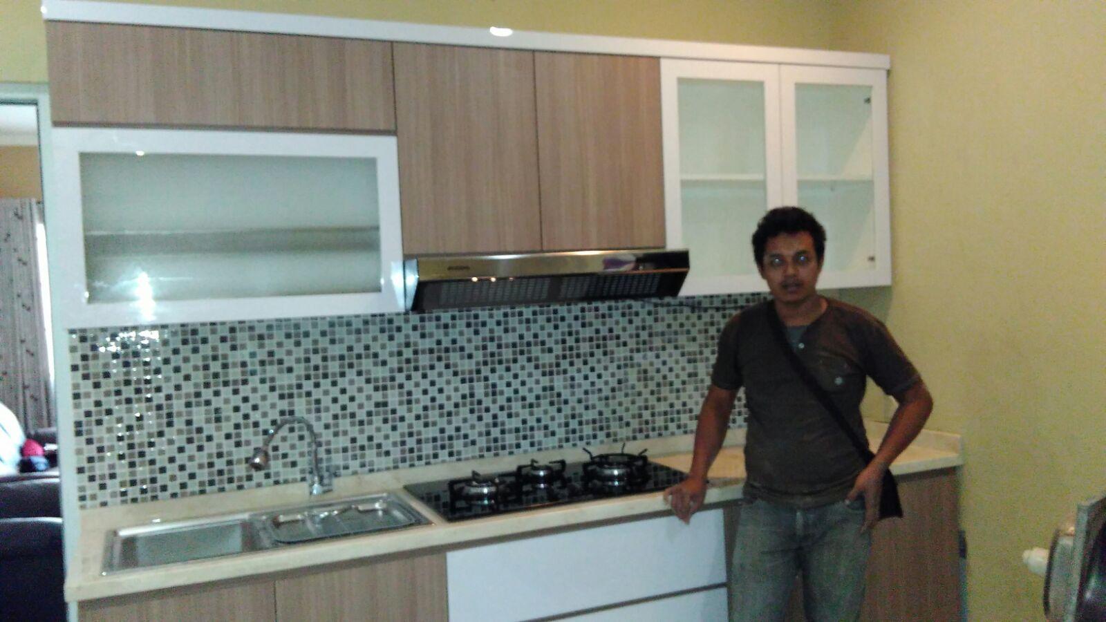 Cara Membuat Kitchen Set Dari Multiplek