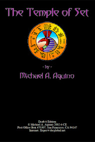 Cover of Michael Aquino's Book Temple of Set (6th Draft)
