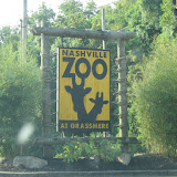 Entering the Nashville Zoo in TN 09032011