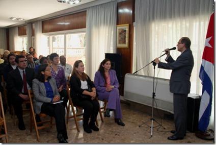 EMBA CUBA - VOTACION ONU 27 - 10 - 15