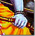 [Rama holding bow]