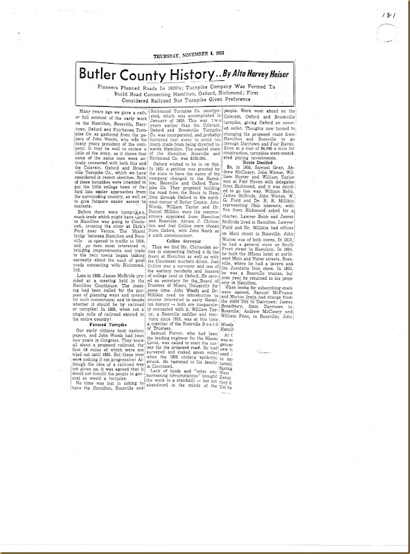 Morton Irwin responsible for stock Butler Co, Ohio 1831_0003