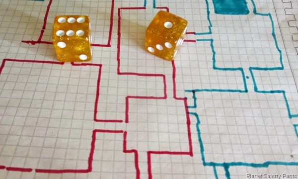 Roll a Castle and explore maze building, multiplication, and division