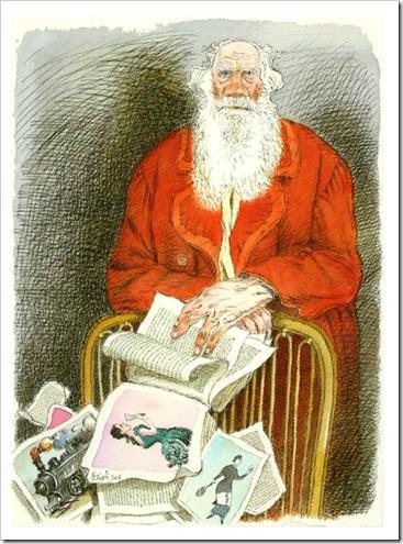 Tullio Pericoli - Tolstoj