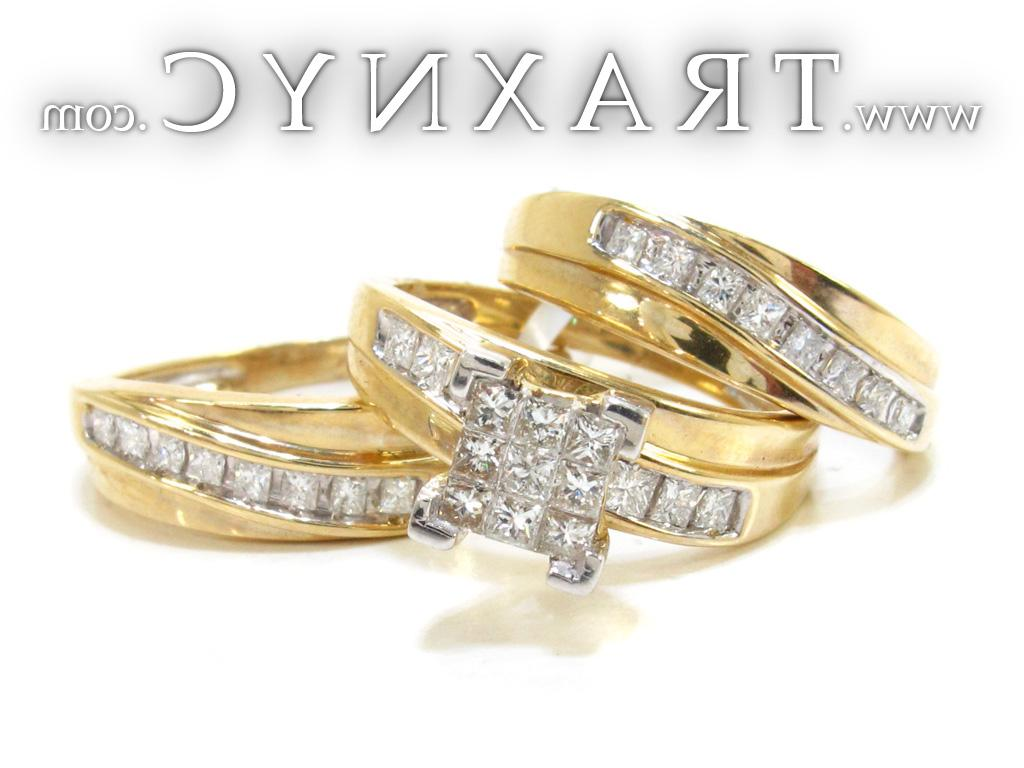 Full Size Picture for Diamond Engagement Ring Set 21921
