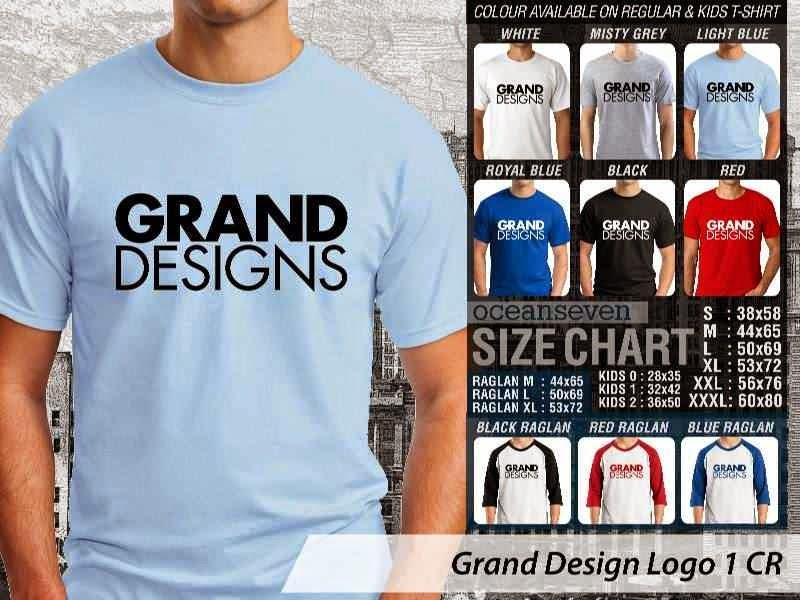 Kaos Magz Grand Design Logo 1 Majalah & Media distro ocean seven