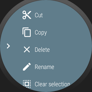 Wear File Manager - beta