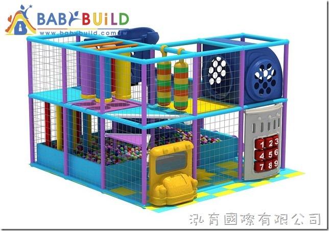 BabyBuild 室內3D泡管遊樂設施