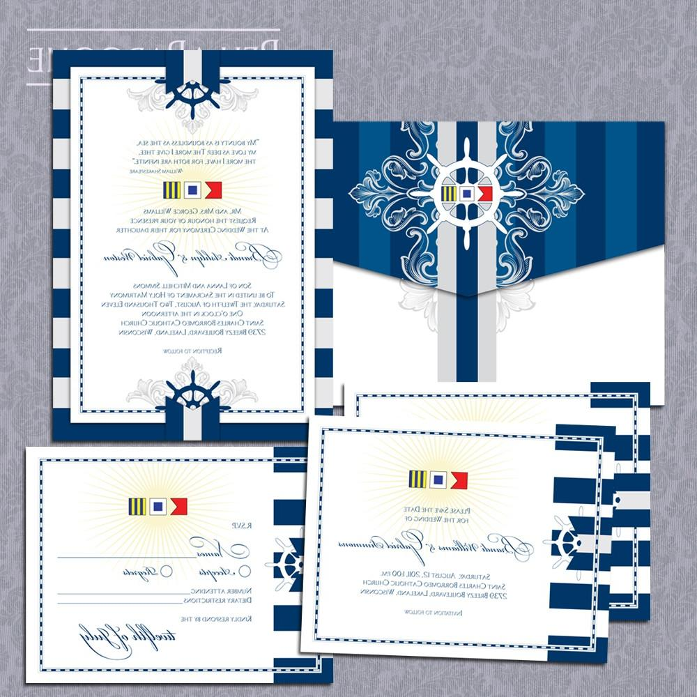 Nautical Flags Wedding