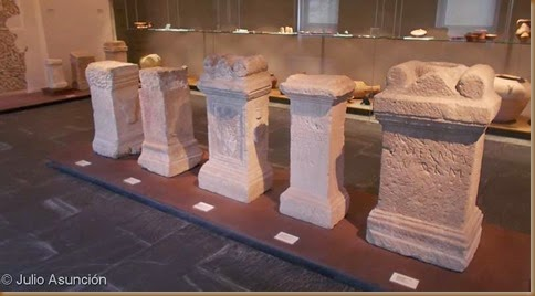 Museo de Navarra - Colección de aras votivas romanas