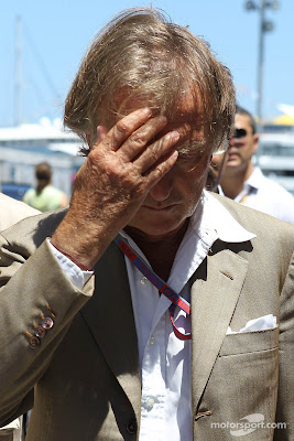 фэйспалмящий Лука ди Монтедземоло на Гран-при Европы 2012