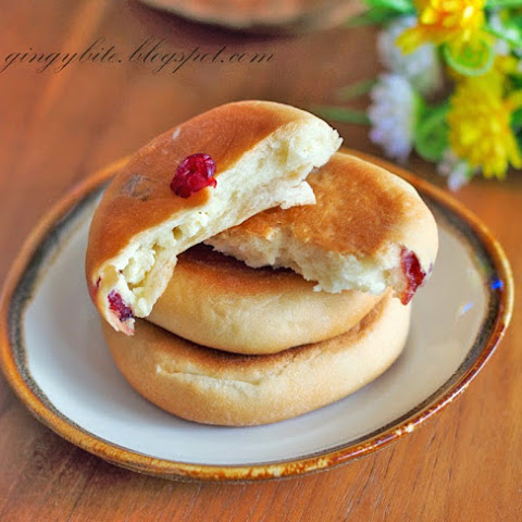 Cranberry Cream Cheese Bun