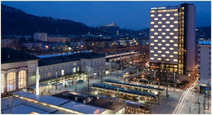 Hotel Europa Salzburg Exterior