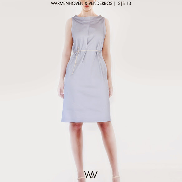 Warmenhoven & Venderbos | Spring |  Summer 2013 ready to wear fashion collection | Facing dress | Voorjaar Zomer 2013  pret-a-porter damesmode |  Conceptual Fashion Designers |  Nederlandse Modeontwerpers