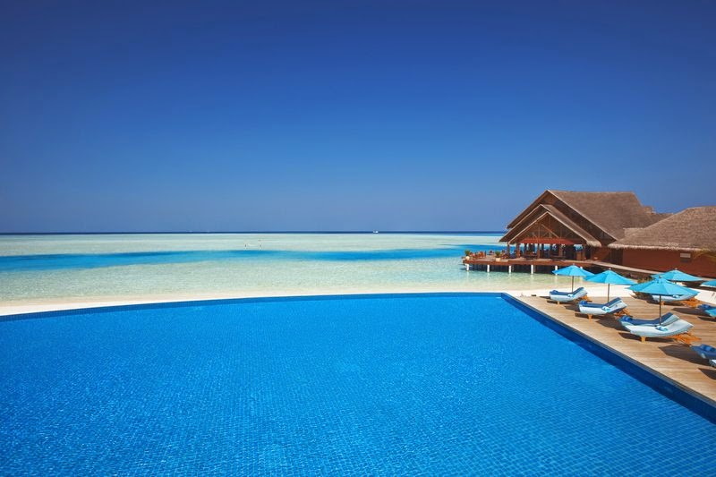 Anantara Dhigu Resort & Spa-infinity pool