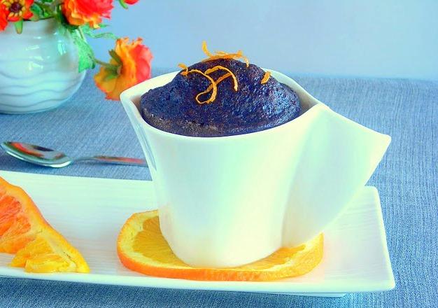 pressure cooker molten chocolate mug cake