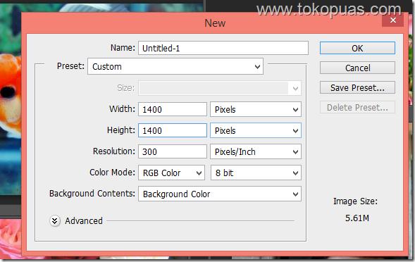 tutorial efek penggabungan foto blend mode