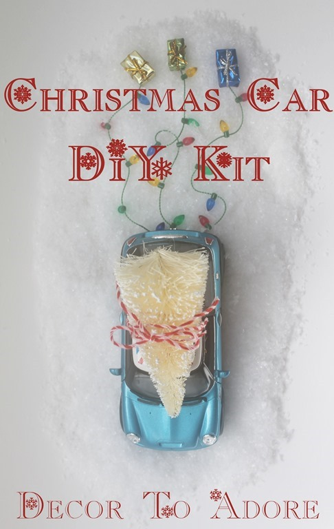 Christmas Car DIY Kit 011-002
