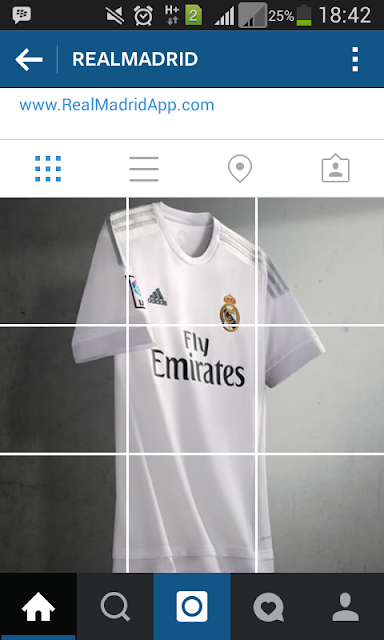 Jersey Home 2015/2016 Real Madrid