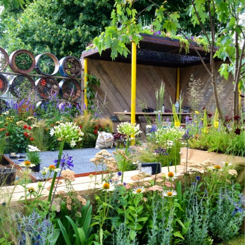 A Space to Connect and Grow by Cairns & Antonelli - RHS Hampton Court Flower Show 2014 - Photo by Noemi Mercurelli