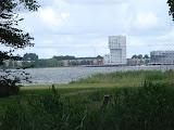 De skyline van Almere.