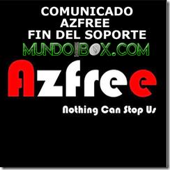 COMUNICADO AZFREE FIN DEL SOPORTE