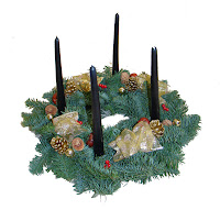 Advent Table Top Wreath