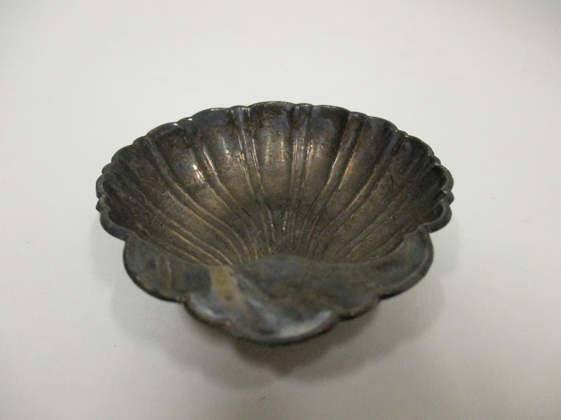 Sterling Silver Clam Shell Dish