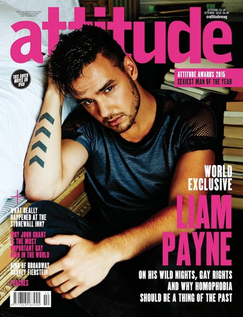 Liam Payne for Attitude Magazine
