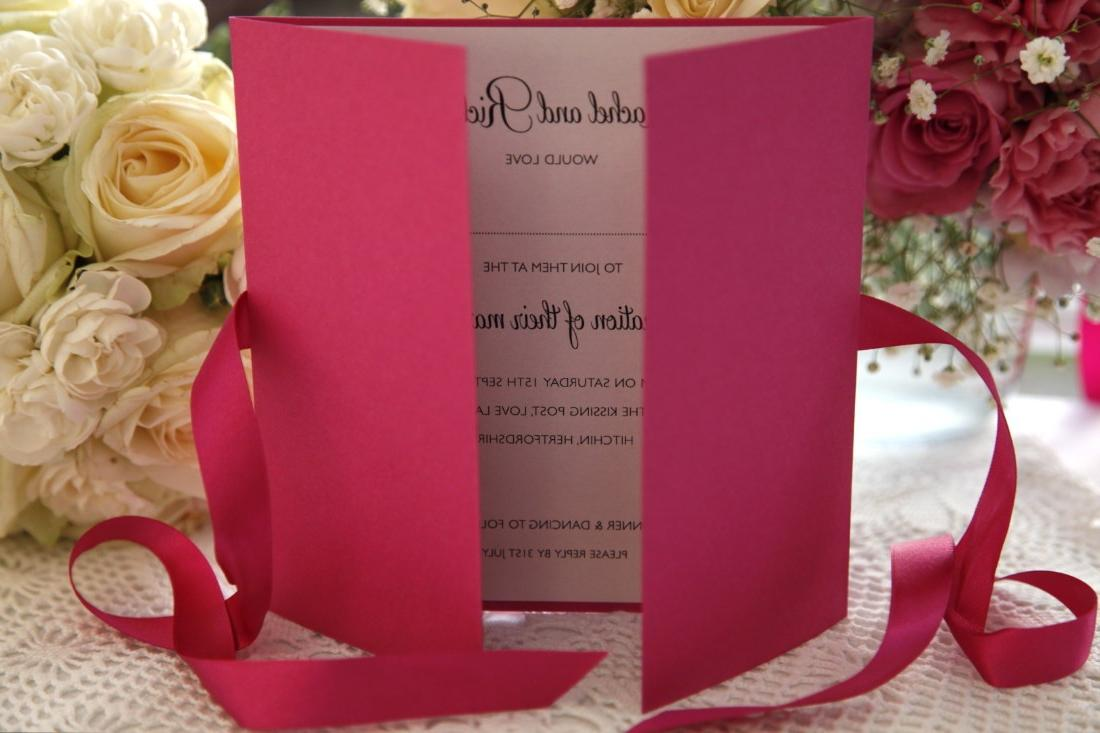 Pleasure Wedding Invitation
