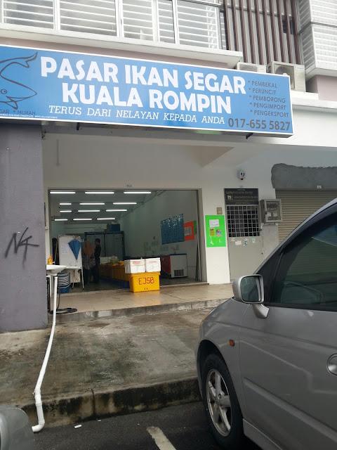 Pasar Segar Kuala Rompin di TTDI Groove Kajang