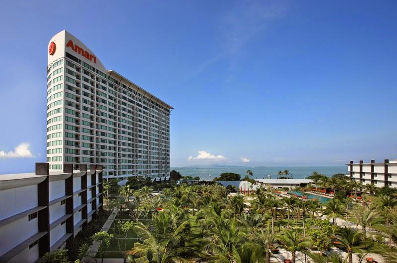 Amari Ocean Pattaya酒店外觀