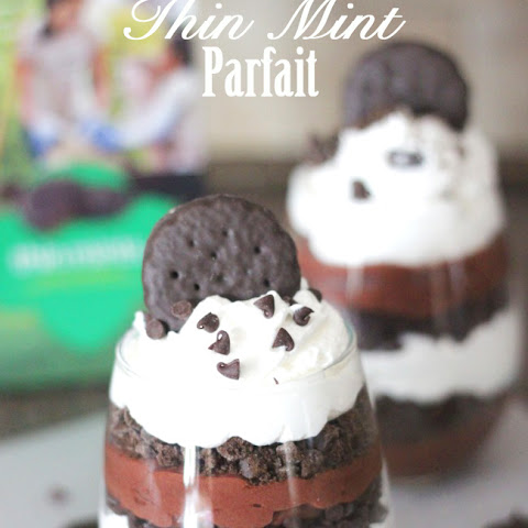 Triple Chocolate Thin Mint Parfaits