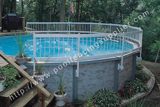 Above ground pool fencing<br />http://www.poolfencingsupplier.com/pool-fencing/above-ground-pool-fencing.html<br /><br />The walls of above ground pool often serve as a barrier to access. However, if the height of the pool walls is less than four feet, then additional pool fencing must be installed. Since most above ground pools have stairs for easier entry, these stairs need to be removable or able to be raised, or they too must have a fence around them.<br /><br />Above ground pool fencing, as you would expect from the name, this type of fencing is specific to above-ground pools. While some people make the mistake of believing that children can't climb into an above ground pool from the ground, the creativity and curiosity of children means that installation of a fence on your above-ground pool is just as important as it is for an in-ground pool.