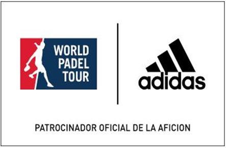 Adidas Pádel, patrocinador oficial de la Afición World Padel Tour 2015.