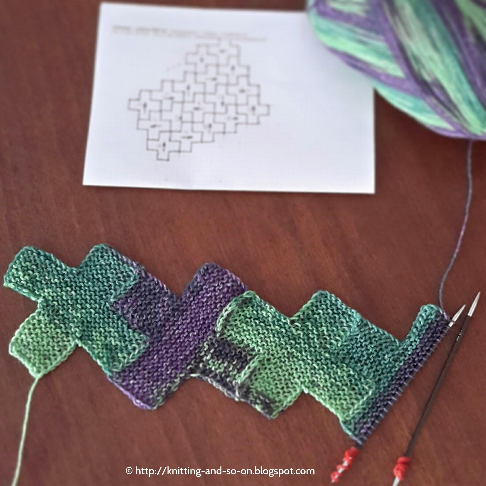Modular Knitting Patterns : Knitting and so on: More Modular Knitting