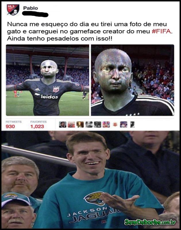 O QUE UM JOGADOR DE FIFA FAZ