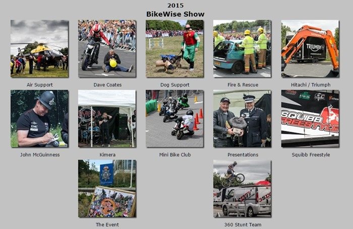 Please CLICK HERE to view images from BikeWise2015