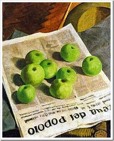Felice Casorati, Le mele