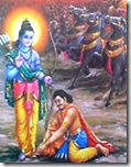 [Rama with Vibhishana]