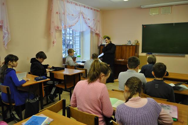 В воскресной школе прошли контрольные испытания за первое   0665 jpg