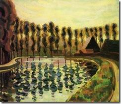 Auguste-Herbin-Landscape-with-Poplars-S