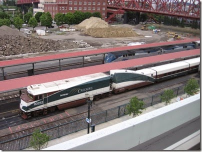 IMG_6976 Amtrak NPCU #90252 at Union Station in Portland, Oregon on June 10, 2007