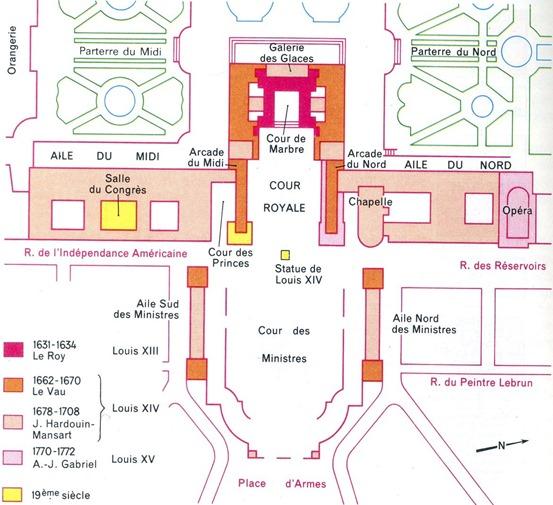 plan château extérieur