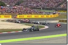 Nico Rosberg ha vinto il gran premio di Spagna 2015