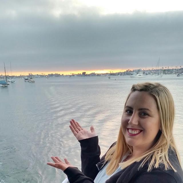 Balboa Island sunset